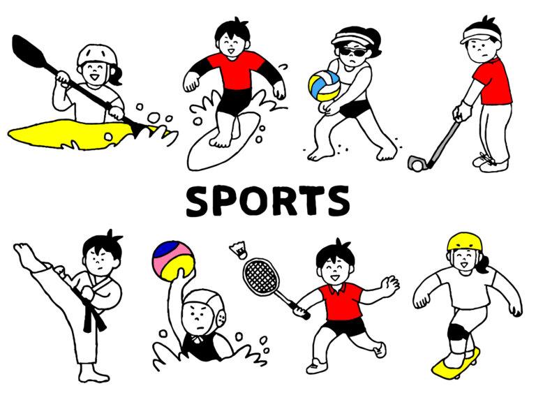 《代表コラム51》たくさんのスポーツや道具にふれさせる
